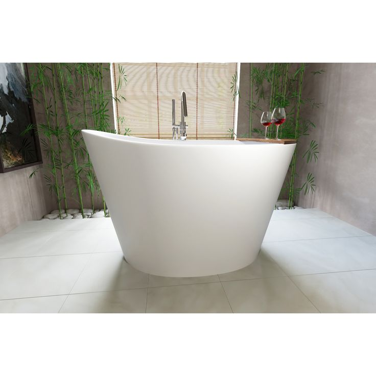 Built In Seat On The Inner Base Of The Tub For Sitting Comfort.  Extra Deep  Design Of