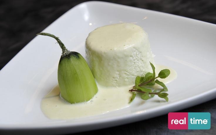Real Time è: Cucina Con Ale con Alessandro Borghese. Bavarese di verdure. Guarda la ricetta su www.realtimetv.it/web/cucina-con-ale