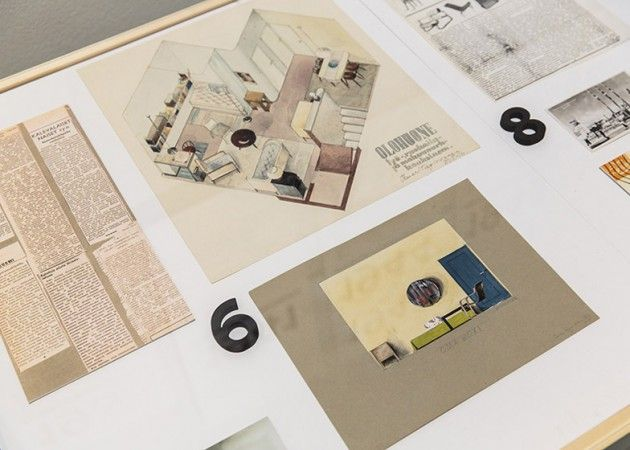 Ilmari Tapiovaara's interior drawings