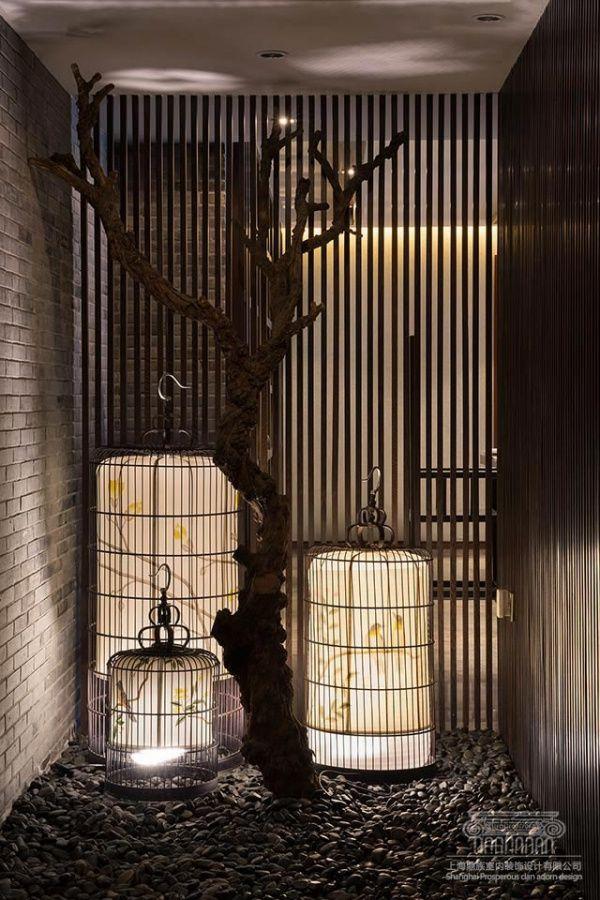 新中式风格度假别墅——传统艺术的完美演绎...