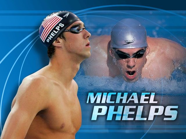 Michael Phelps. Will always be more badass than any other swimmer. And yes I include Ryan Lochte.