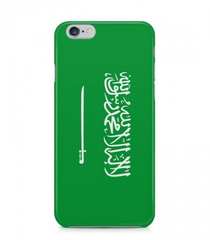 Saudi or Saudi Arabian Flag 3D Iphone Case for Iphone 3G/4/4g/4s/5/5s/6/6s/6s Plus - FLAG-SA - FavCases