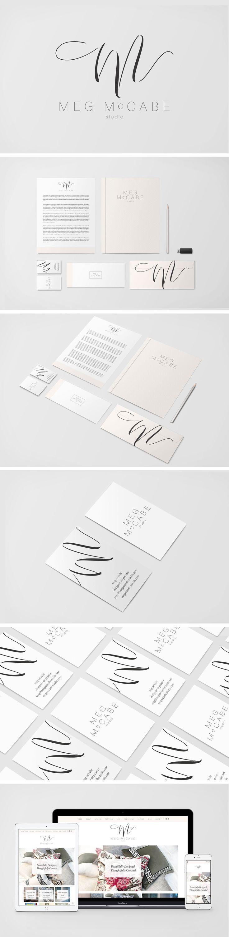 Brand Identity and Logo Design for Meg McCabe Studio