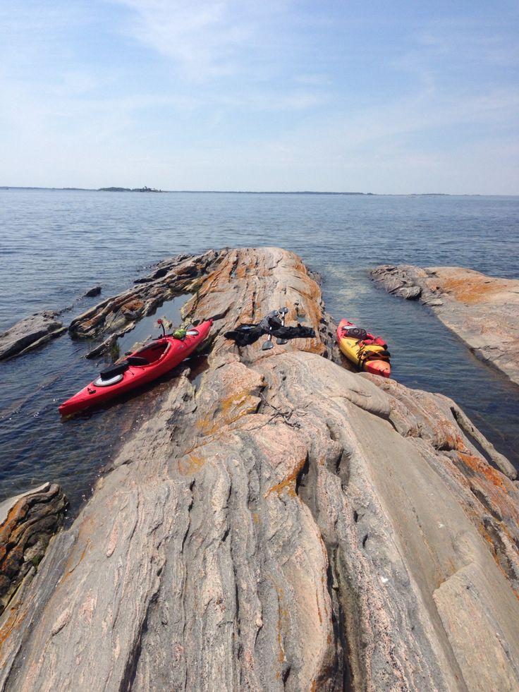 Georgian Bay kayaking