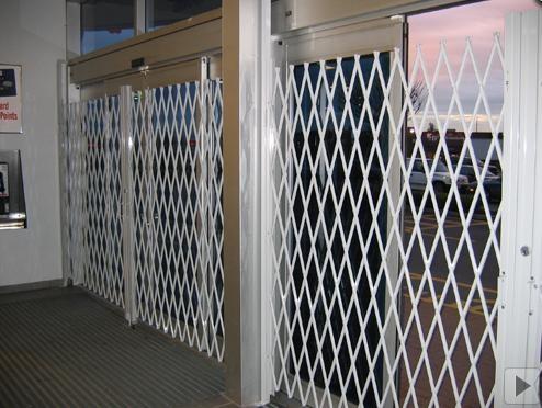 door security gates gate fold away