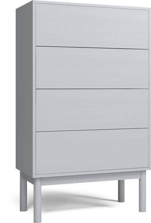 Case byrå med 4 lådor