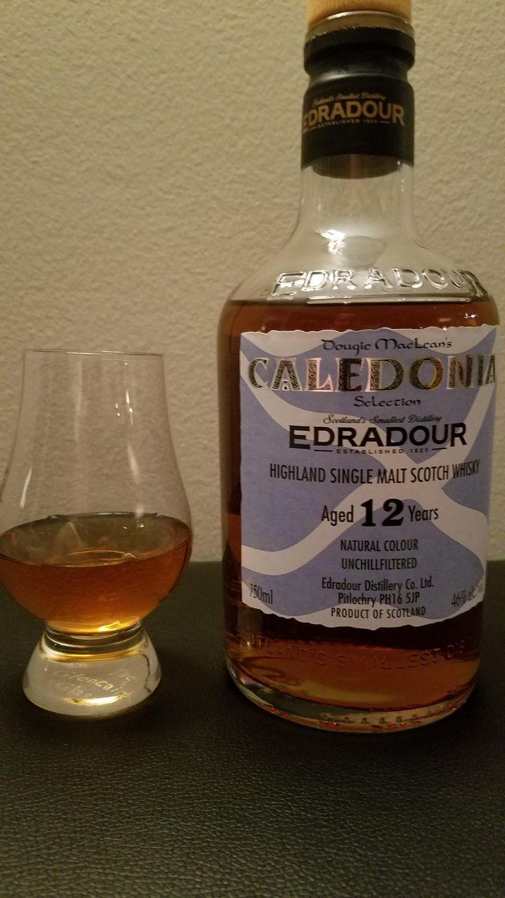 Review #6 - Edradour Caledonia 12 Year Old #scotch #whisky #whiskey #malt #singlemalt #Scotland #cigars