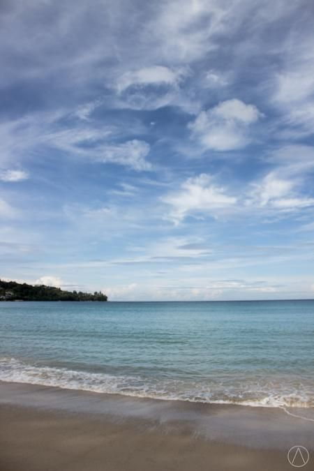 the beach Photo by alfred chaniago — National Geographic Your Shot