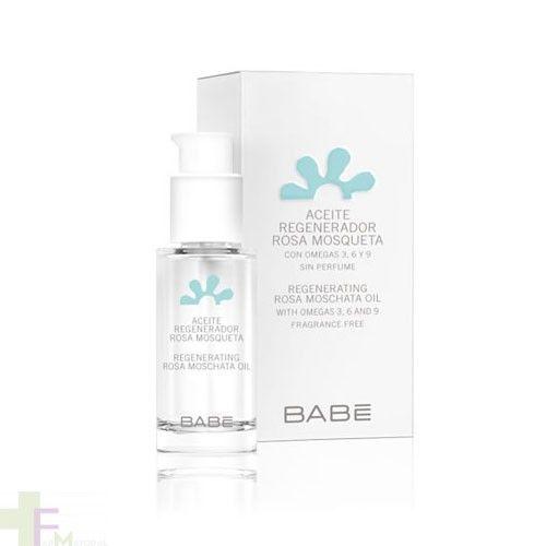 Babe Aceite Regenerador de Rosa Mosqueta es un aceite reparador, regenerador y nutritivo para la piel. https://farmayoral.com/babe-aceite-rosa-mosqueta-regenerador-15-ml.html