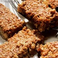 Oatmeal cereal bars - say no to processed corn syrup: Granola Bar Recipes, Baking Oatmeal, Healthy Breakfast, Breakfast Bar, Healthy Eating, Healthy Fruit, Energy Bar, Cereal Bar, Homemade Granola Bar