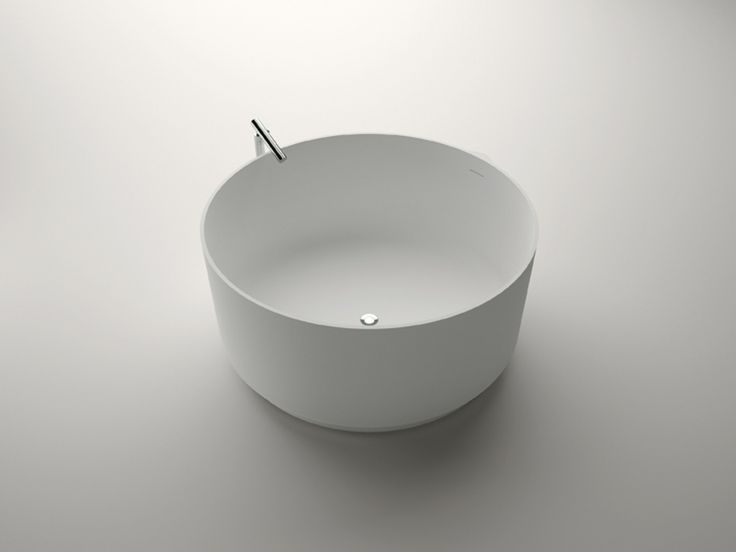 Agape In-Out bathtub with Square free-standing spout. Agape Bathrooms from Liquid Design +44 (0)1604 721993