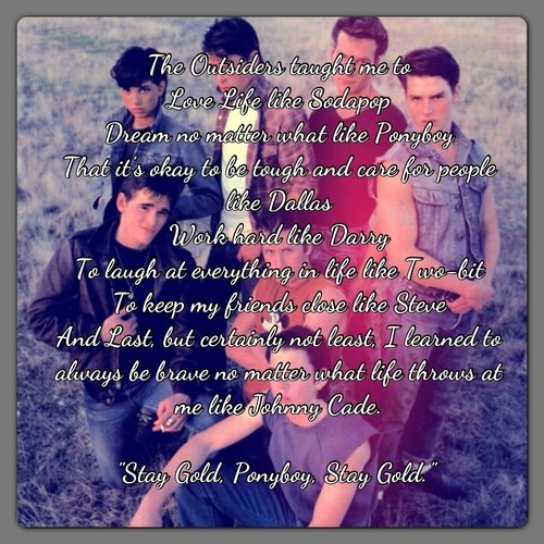 The Outsiders Quotes: 133 Best Images About The Outsiders Quotes On Pinterest