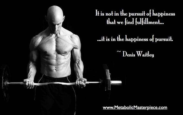 inspiring workout motivation quote from denis waitley