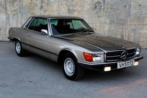 Mercedes benz sl 350 slc meget pen originalbil 1973 236 for Mercedes benz 350 slc