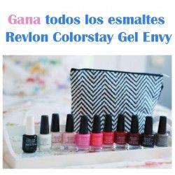 Gana todos los esmaltes Revlon Colorstay Gel Envy ^_^ http://www.pintalabios.info/es/sorteos-de-moda/view/es/4707 #ESP #Sorteo #Unas