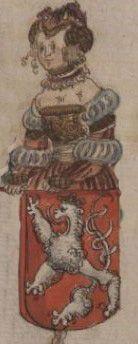 Anežka, dcera krále Václava I. Jednookého a manželka míšeňského markraběte Jindřicha Jasného
