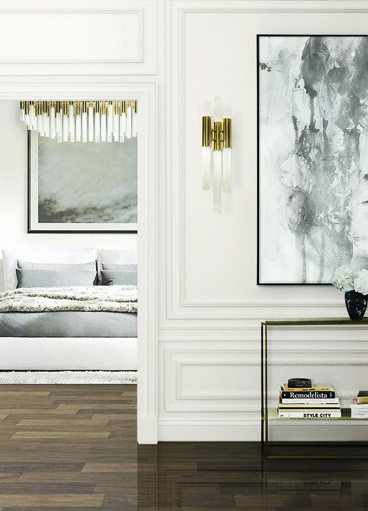 Maia Modern Bedroom Set: Bedroom Decor, Luxury Lighting
