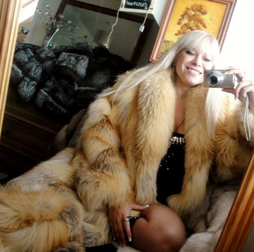 NEW !! | Miss Larissa | Pinterest | Fox Fur Coat, Red Fox and Fox Fur ...