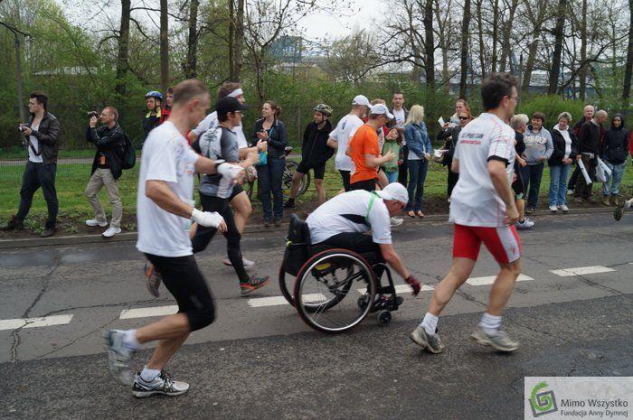 Janusz Radgowski - DymTeam w 12. Cracovia Maraton