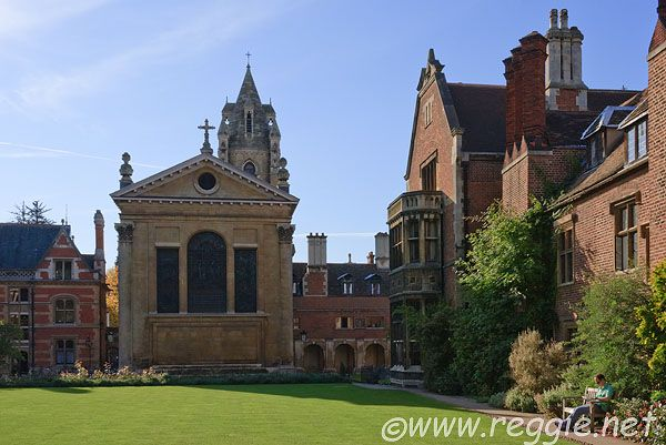Pembroke College, Cambridge - remember matriculation photograph on this lawn 25yrs ago