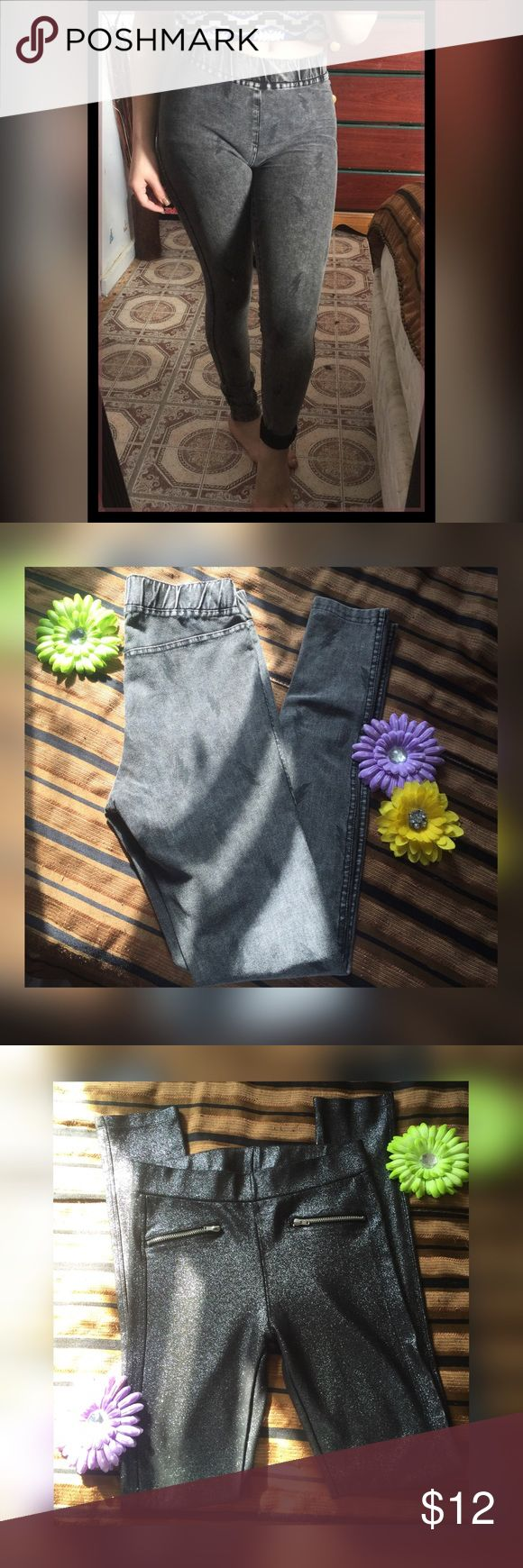 🖤 H&M Leggings Bundle • 🖤 Bought Them And Never Got to Use Them. They're NEW Without Tags ! :) Size Is 12-13Y (Girls) Fits (0) In Women's ! 🦋 H&M Pants Leggings