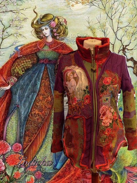 Strickjacke COSTUM gemacht für Saskia von lodicha auf Etsy