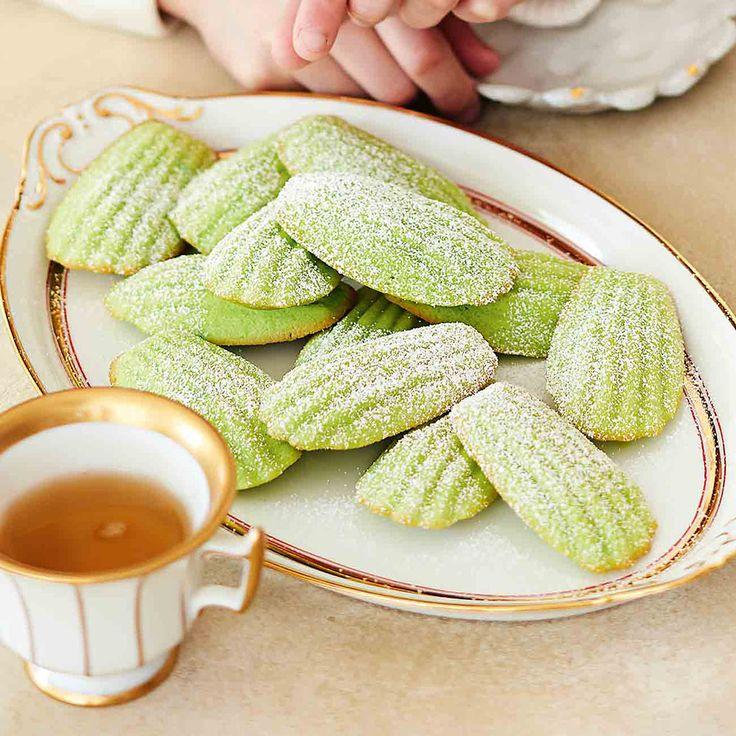 How to make Green Tea cakes