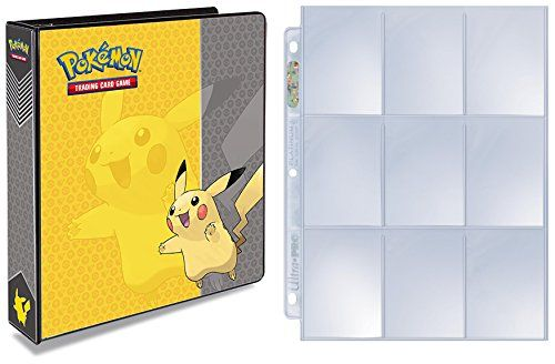 Collectible Trading Card Albums - Ultra Pro Pokemon Pikachu 3Ring Binder with 25 Platinum 9Pocket Pages Expandable upto 200 Pages ** For more information, visit image link.