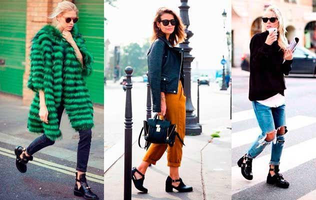 Las famosas se apuntan a la moda de los botines cut out. #famosas #tendencias #zapatos #cutout #botinescutout