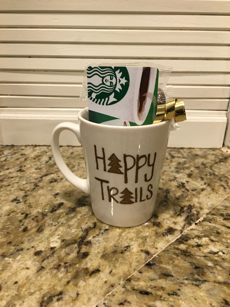 Woodland Creature Baby Shower- gift- handmade mug with Starbucks gift card and chocolates. The game was name the baby animal... We gave them the parent's name I.e. Deer-fawn, Cat-Kitten