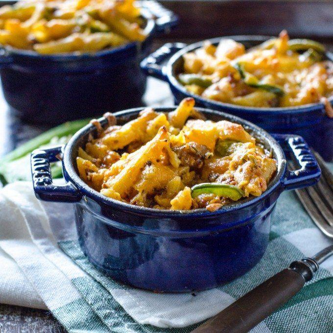 Spicy Jalepeno, Hot Sausage and Chorizo Mac and Cheese | Go Go Go Gourmet @gogogogourmet