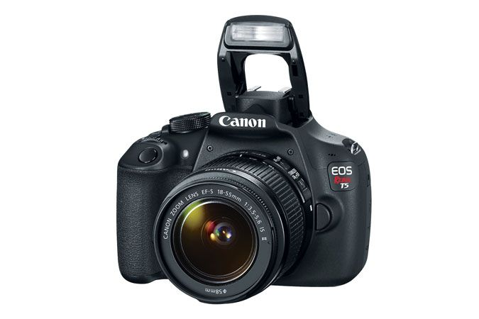 Canon EOS Rebel T5 EF-S 18-55mm IS II Lens Kit Refurbished | Canon Online Store $439.99