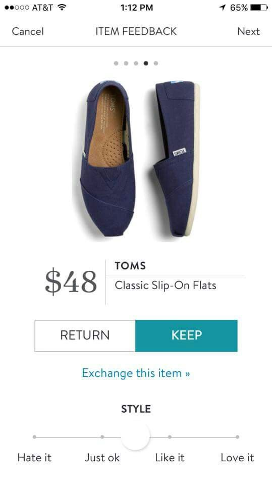 Stitch Fix Toms Navy