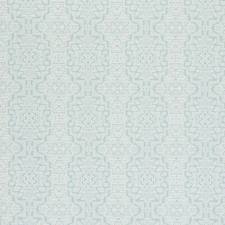 F0609-3 Spirit – Seafoam – Clarke & Clarke Fabric