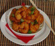 Recette de crevettes Bang Bang - Brasserie Fleurimont