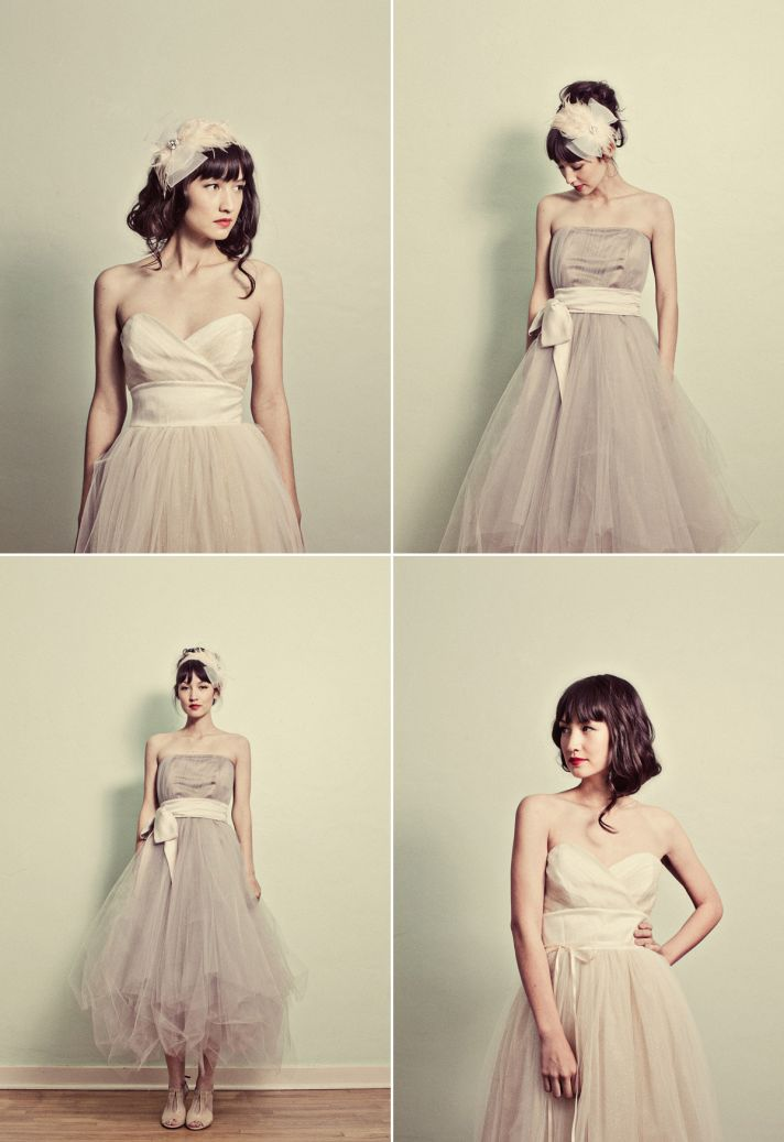 These are listed as wedding dresses, but I love them for bridesmaids!