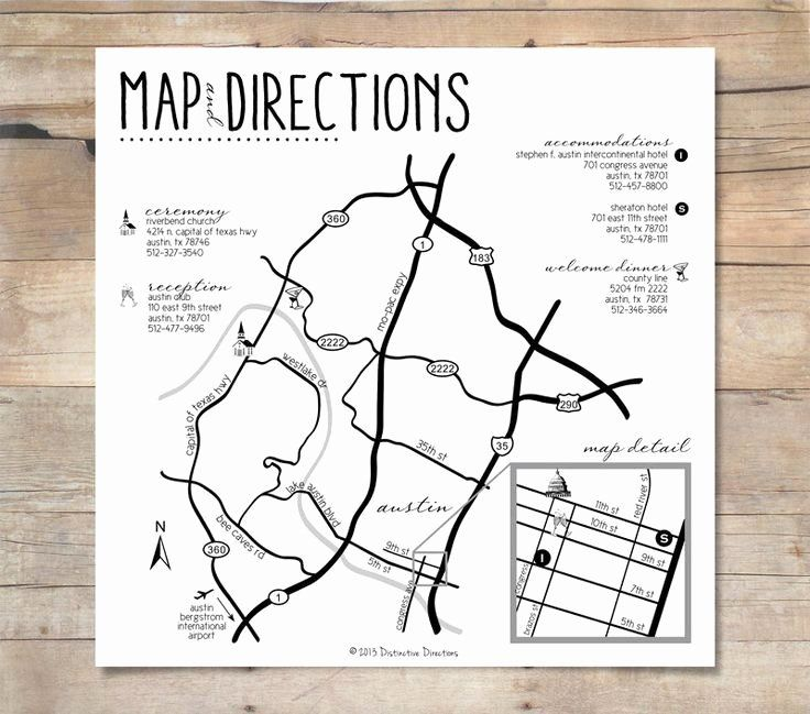 Wedding Direction Cards Template Inspirational Pin By Ashley Herrington On Design Wedding Collateral Wedding Map Wedding Directions Map Map Wedding Invitation