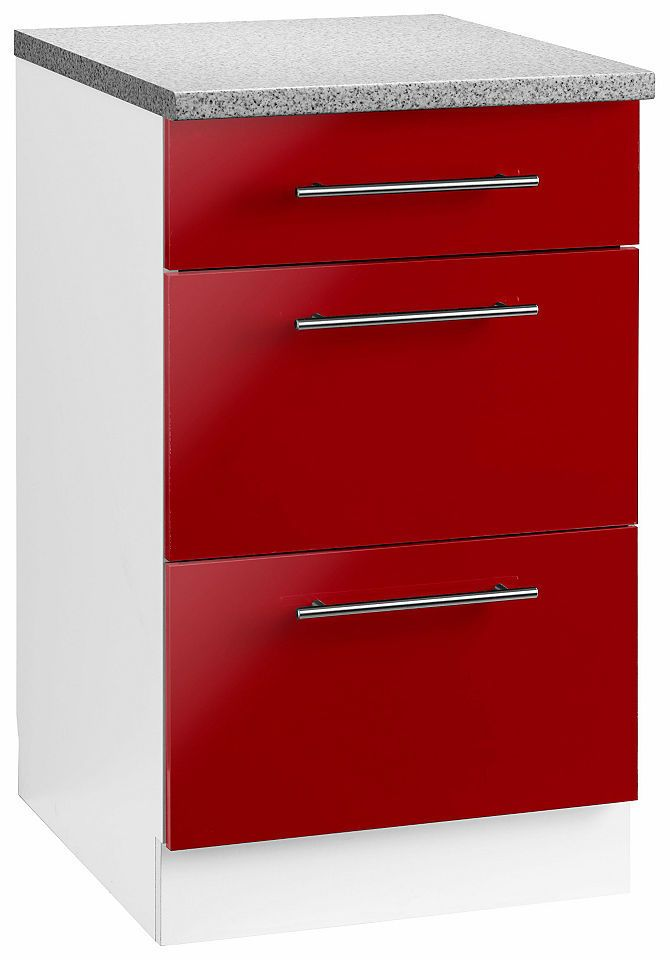 Die besten 25+ Rote küchenschränke Ideen auf Pinterest Rot - küchen unterschrank schubladen