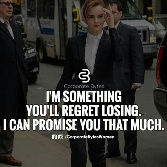 You WILL regret the poor decisions you've made!