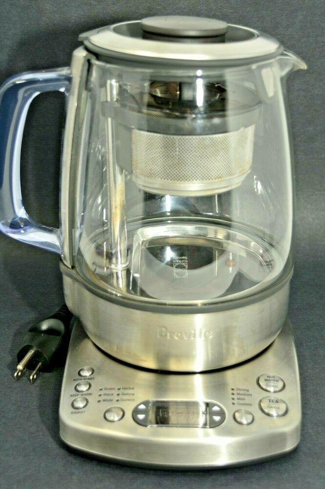 Breville Btm800xl The Tea Maker Electric Kettle Programable Small