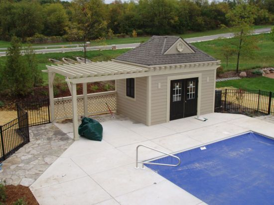 pool house pictures | Pool Houses by J&J Construction
