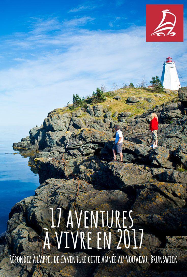 Répondez à l'appel de l'aventure cette année au Nouveau-Brunswick.