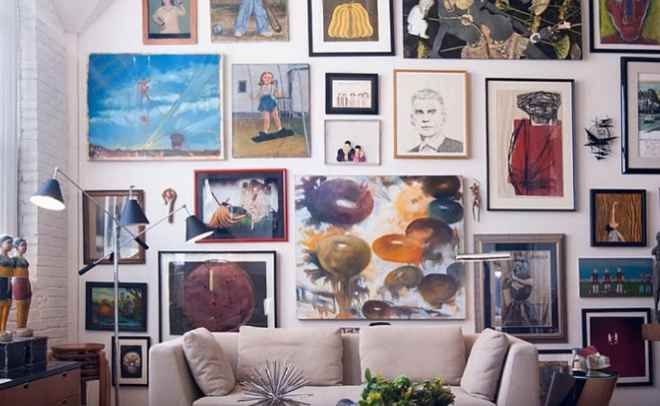 Стиль эклектика в интерьере спальни фото