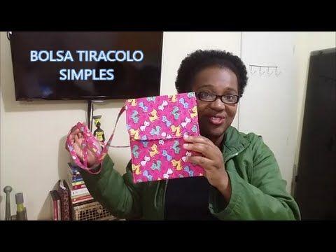 DIY/ Passo a Passo Bolsa Tiracolo Simples