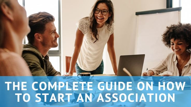 Share this guide with someone who is starting an association - it may help them out!