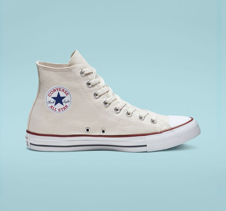 Chuck Taylor All Star Natural Ivory High Top Shoe | Popular shoes ...