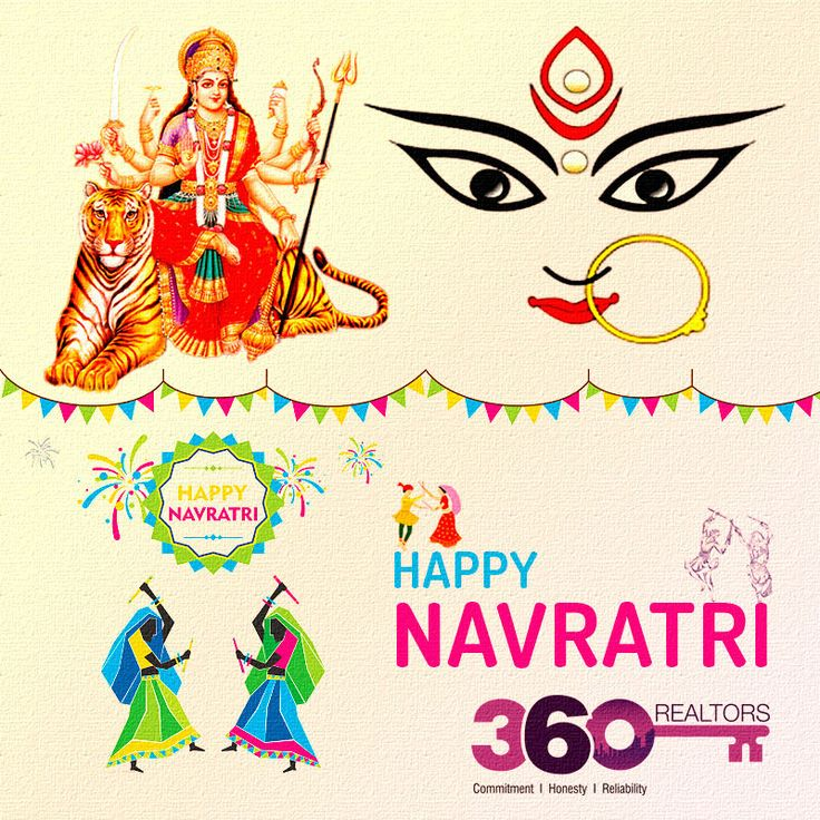 #360Realtors wishes you & your family a very happy, peaceful & blessed #Navratri !