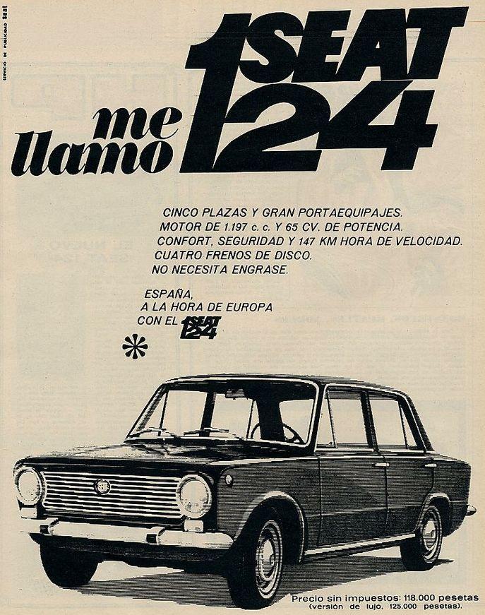Seat 124. Año 1968