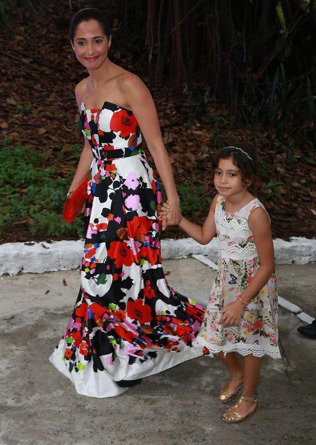 Camila Pitanga e a filha, Antônia (Foto: Dilson Silva,Delson Silva e Felipe Assumpção/Agnews)