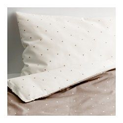 IKEA - ÄLSKAD, 4-piece bed linen set for crib, , Cotton is soft and feels nice against your child's skin.The color and pattern of the duvet cover are easy to combine with other textiles.